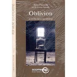 Piazzolla, Astor: Oblivion : für Oboe (Sopransaxophon/ Klarinette) und Blasorchester Partitur und Stimmen