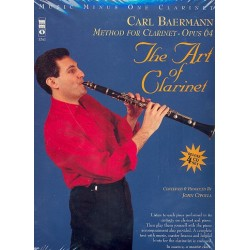Baermann, Carl: The Art of Clarinet op.64 (+4 CD's) : for clarinet and piano