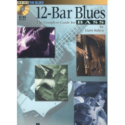 Rubin, Dave: 12-Bar Blues (+CD): for bass/tab