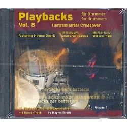Doerk, Haymo: Playbacks for Drummer vol.8 : CD Instrumental Crossover