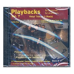 Substyle: Playbacks for Drummer vol.7 : CD Vocal Tracks vol.1 (Rock)