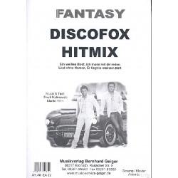 Malinowski, Fredi: Fantasy Discofox Hitmix : f├╝r Klavier (Gesang/Gitarre)