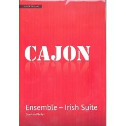 Pfeffer, Torsten: Irish Suite : for 4 cajons (ensemble) score