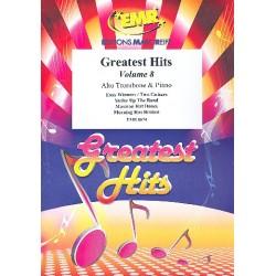 Greatest Hits Band 8 : für Altposaune und Klavier (Percussion ad lib)
