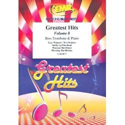 Greatest Hits Band 8 : für Bassposaune und Klavier (Percussion ad lib)