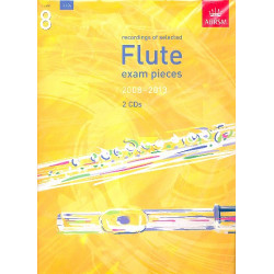 Selected Flute Exam Pieces 2008-2013 Grade 8 : 2 CD's