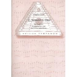 Conti, Angelo: Sonate G-Dur Nr.2 : für Hackbrett und Cembalo