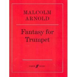 Arnold, Malcolm: Fantasy op.100 : for trumpet