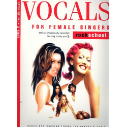 Vocals Level 2 (+CD): for female singers