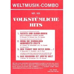 Volkstümliche Hits : für Combo Direktion und Stimmen