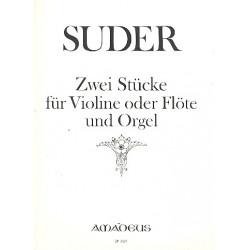 Suder, Joseph: Ariette und Benedictus : f├╝r Violine und Orgel