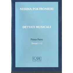 Poltronieri, Nerina: Dettati musicali vol.1 (nos.1-15) : CD