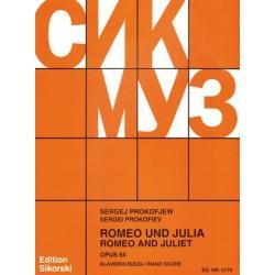 Prokofieff, Serge: Romeo und Julia : f├╝r Orchester Klavierauszug Ballett