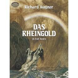 Wagner, Richard: Das Rheingold Partitur (dt)