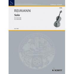 Reimann, Aribert: Solo : f├╝r Violoncello