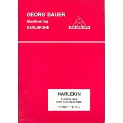 Ferstl, Herbert: Harlekin : für Xylophon (Akkordeon) und Blasorchester Direktion und Stimmen