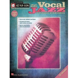 Vocal Jazz (+CD) : for high voice songbook melody line/lyrics/chords jazz playalong vol.131