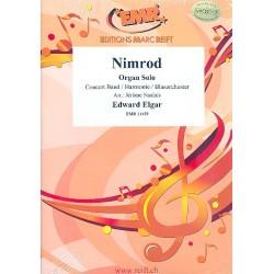 Elgar, Edward: Nimrod für Orgel und Blasorchester Partitur und Stimmen