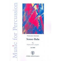 Séjourné, Emmanuel: Sosso-Bala : for 8 percussion players score