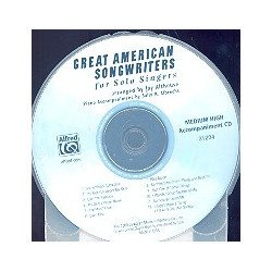Great American Songwriters : CD (medium high voice)