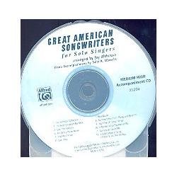 Great American Songwriters CD (medium high voice)