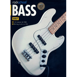 Rockschool 2012-2018 Debut (+CD) : for bass/tab