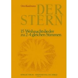 Kaufmann, Otto: Der Stern : zu für gem Chor (Instrumente ad lib) Partitur