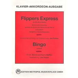 Steffen, Harro: Flippers Express und Bingo : f├╝r Klavier (Akkordeon) (mit Text und Akkorden)