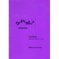 Fesch, Willem de: Carillon : for church bells score