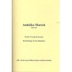 Kmoch, Frantisek: Andulka-Marsch : f├╝r Blasorchester