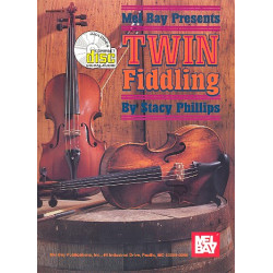 Twin Fiddling (+CD) : Tunes for 2 fiddles with guitar chords