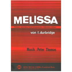 Thomas, Peter: Melissa : für Klavier / Keyboard und Nebenstimme