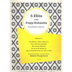 Schmitz, Jupp: 5 Hits von Jupp Schmitz : Potpourri Gesang uind Klavier