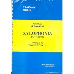 Green, Joe: Xylophonia : for xylophone and brass band score and solo part