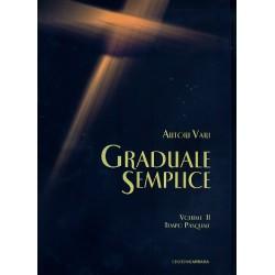 Graduale semplice vol.2 - tempo pasquale : per voci e organo