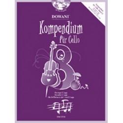 Kompendium Band 8 (+CD) : für Violoncello
