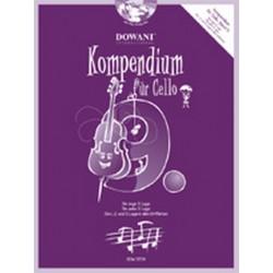 Kompendium Band 9 (+CD) : für Violoncello