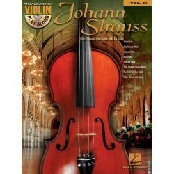 Strauß, Johann (Sohn): Johann Strauss Jr. (+CD) : for violin violin playalong vol.41