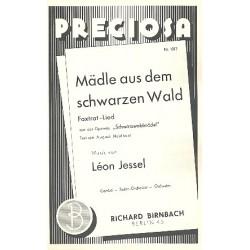 Jessel, Leon: Mädle aus dem schwarzen Wald : für Salonorchester