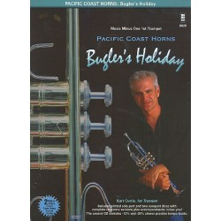 Bugler's Holiday for 2 trumpets, horn, trombone and tuba (+2 CD's) : printed first trumpet part