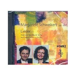 Schweikert, Margarete: Lieder für Tenor und Klavier CD