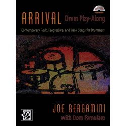 Bergamini, Joe: Arrival (+MP3-CD) : for drum set
