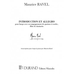 Ravel, Maurice: Introduction et allegro : pour harpe et piano