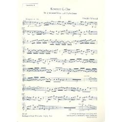Vivaldi, Antonio: Konzert G-Dur : für 2 Mandolinen und Zupforchester Mandoline 2