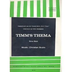 Bruhn, Christian: Timm's Thema : Originalmusik der der Fernsehserie Timm Thaler Einzelausgabe