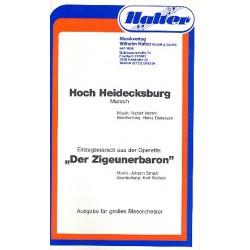 Herzer, Rudolf: Hoch Heidecksburg und Der Zigeunerbaron : f├╝r Blasorchester, Direktion+Stimmen