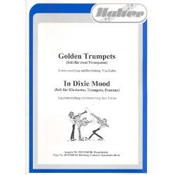 Golden Trumpets und In Dixie Mood : für Blasorchester und diverse Soloinstrumente Direktion und Stimmen