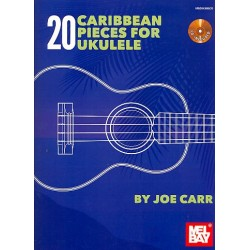 20 Caribbean Pieces (+CD) : for ukulele/tab