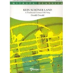 Kein schöner Land: für Blasorchester Partitur und Stimmen (inkl. Schweizer Stimmen)