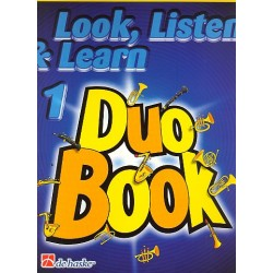 Oldenkamp, Michiel: Look listen & learn vol.1 - Duo Book : for 2 clarinets score